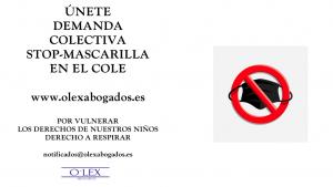 STOP MASCARILLAS COLE